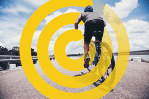 Bersepeda agar bergerak aktif