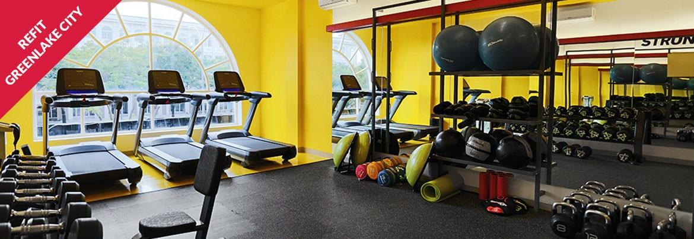 Ruangan Fitness Greenlake Citu