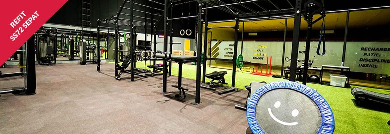 Ruang Fitness Sepat