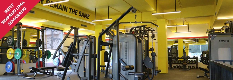 ruangan fitnes Refit Semarang