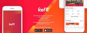 Peluncuran Apliksi ReFIT Indonesia