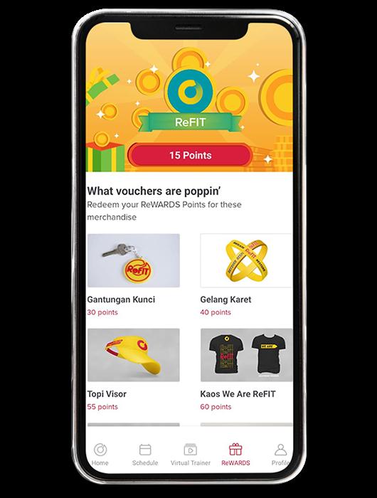 ReFIT App Interface