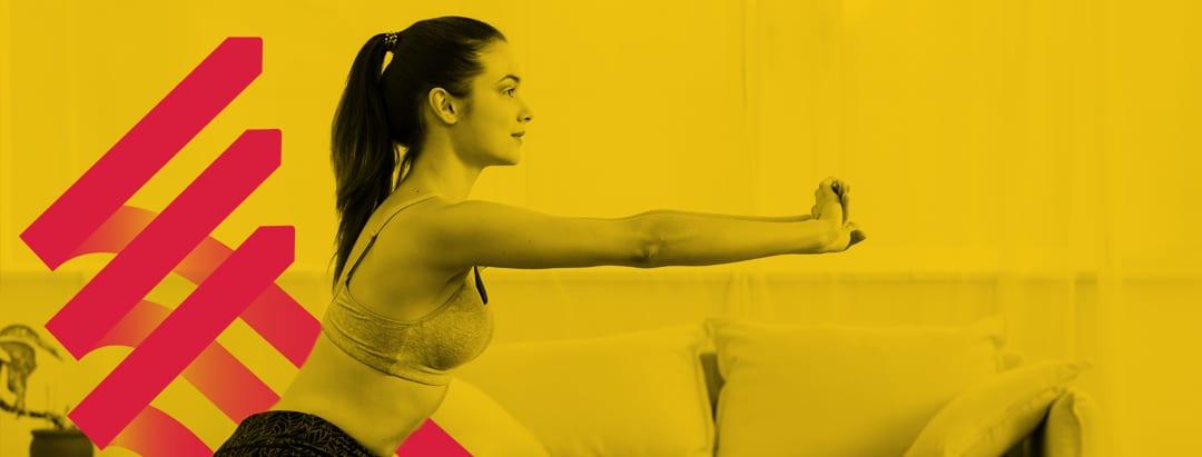 melatih otot di rumah