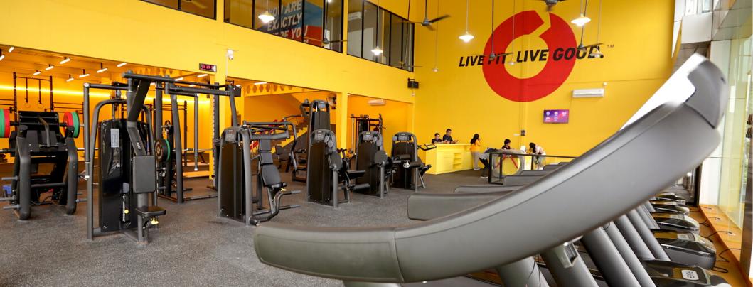 Gym di Pamulang